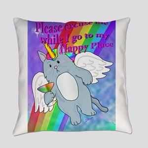 Happy Place Everyday Pillow