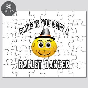 Smile If You Love Ballet dancer Puzzle