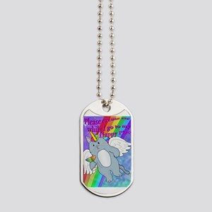 Happy Place Dog Tags