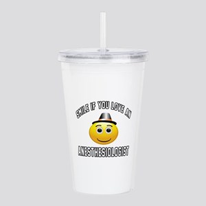 Smile If You Love Anes Acrylic Double-wall Tumbler