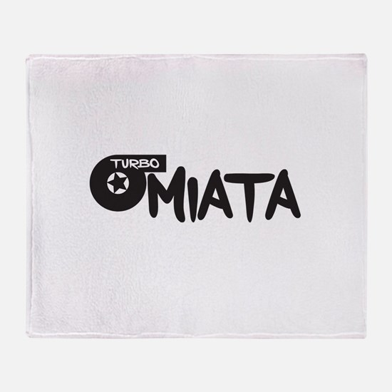 TurboMiata Throw Blanket