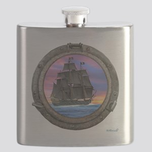 Black Sails of the 7 Seas Flask