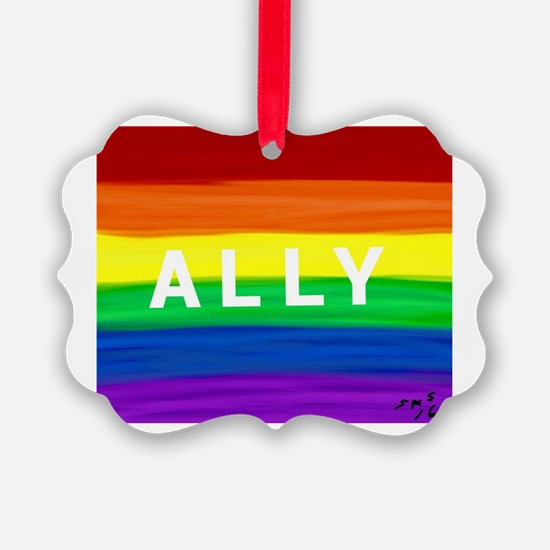 Funny Gay rights Ornament