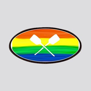 Paddles gay rainbow art ore Patch