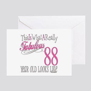 88th Birthday Gifts Greeting Card