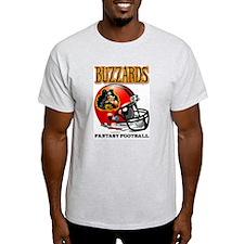 Fantasy Football-Buzzard Grey T-Shirt