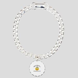 Smile If You Love Comedi Charm Bracelet, One Charm