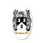 Tooke 35x21 Oval Wall Decal