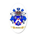 Tooher Oval Car Magnet