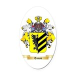 Tonso Oval Car Magnet
