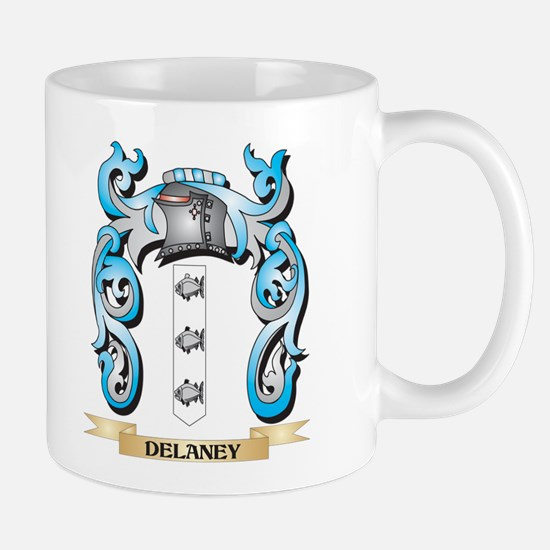 Delaney Coat of Arms - Family Crest Mugs