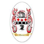 Tonra Sticker (Oval 50 pk)