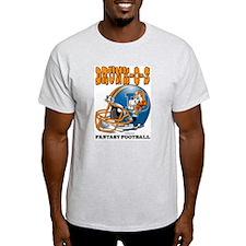 Fantasy Football - Drunk-Os Ash Grey T-Shirt