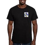 Tongue Men's Fitted T-Shirt (dark)