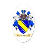 Tong Oval Car Magnet