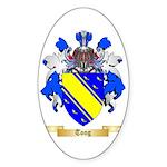 Tong Sticker (Oval 50 pk)