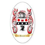Toner Sticker (Oval 50 pk)