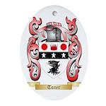 Toner Oval Ornament