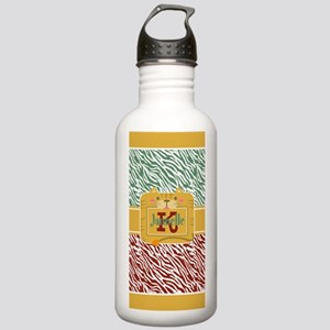 Personalized Zebra Stainless Water Bottle 1.0L
