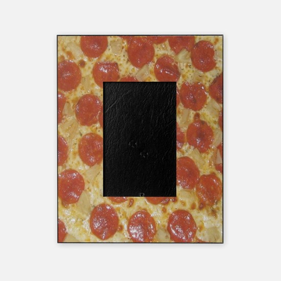 Pepperoni Pizza Picture Frame