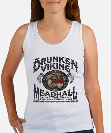 The Drunken Viking Mead Hall Tank Top
