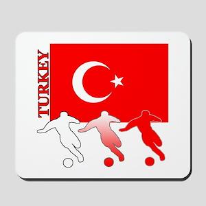 Turkey Soccer Mousepad