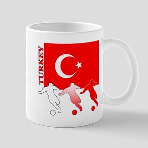 Turkey Soccer Mug