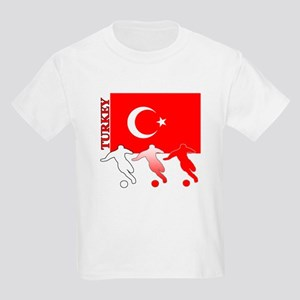 Turkey Soccer Kids Light T-Shirt