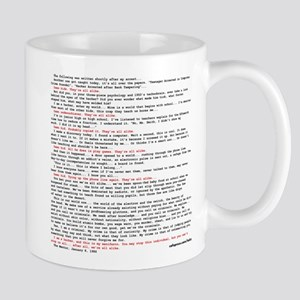 Hackers Manifesto Shirt Mugs