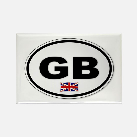 Cute Union jack Rectangle Magnet