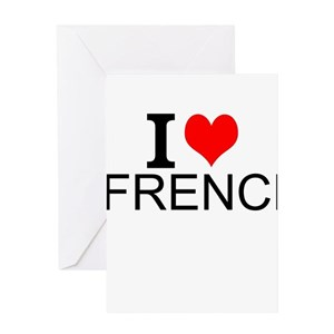 French language greeting cards cafepress m4hsunfo