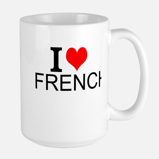 I Love French Mugs
