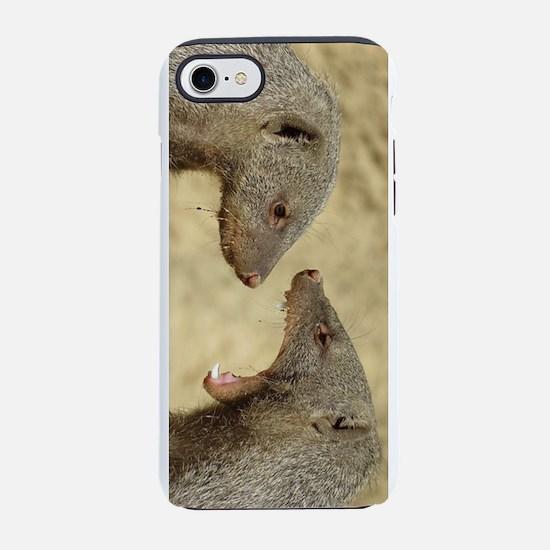 mongoose fight iPhone 8/7 Tough Case