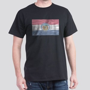 Missouri State Silk Flag T-Shirt