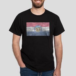 Missouri State Silk Flag T-Shirt