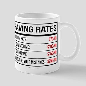Paving Rates Mugs