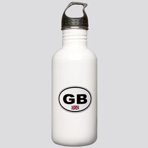 GB Plate Stainless Water Bottle 1.0L