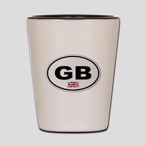 GB Plate Shot Glass