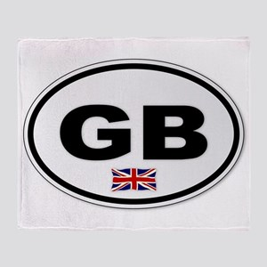 GB Plate Throw Blanket