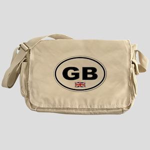 GB Plate Messenger Bag
