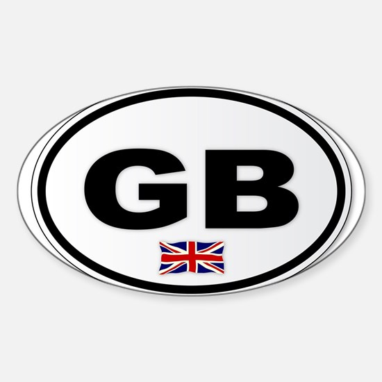 GB Plate Decal