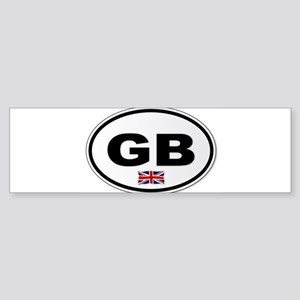 GB Plate Bumper Sticker
