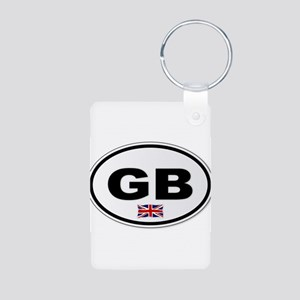 GB Plate Keychains