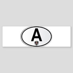 Austrian A Plate Bumper Sticker