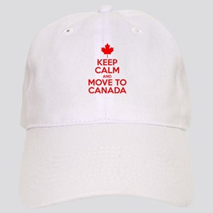 Keep Calm and Move to Canada Cap