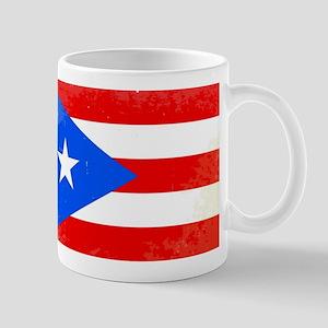 Puerto Rico Flag Mugs