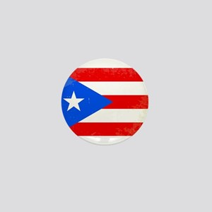 Puerto Rico Flag Mini Button