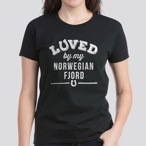 Norwegian Fjord Horse Lover Women's Dark T-Shirt