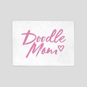 Doodle Mom 5'x7'Area Rug