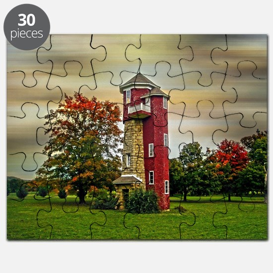 Autumn Water Tower Puzzle